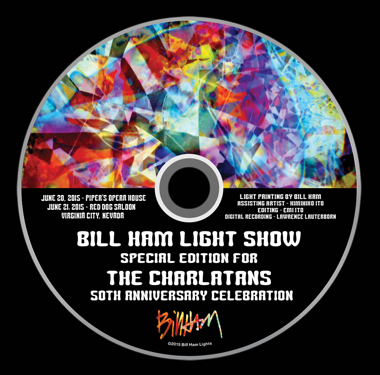 The Charlatan's 50th Anniversary DVD, June 16, 2015