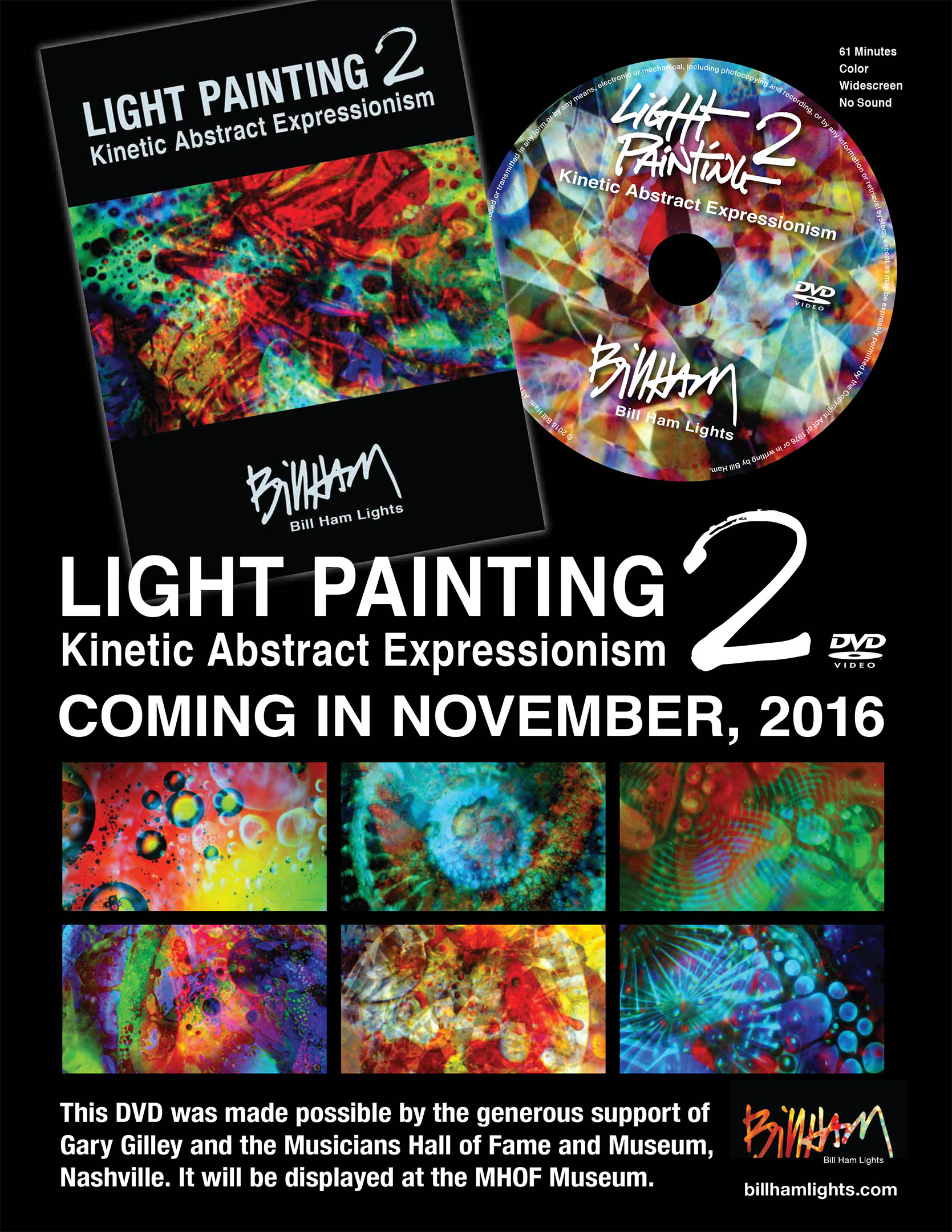 Light Painting 2 DVD is coming in November 2016